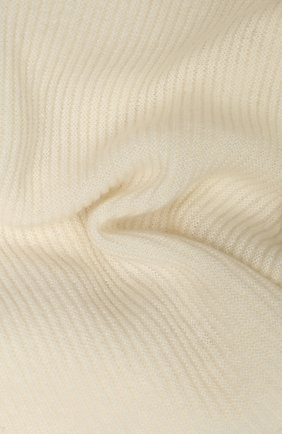 Мужской кашемировый шарф-снуд TEGIN белого цвета, арт. 5233 | Фото 2
