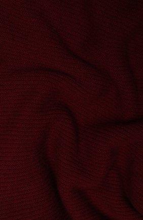 Мужской кашемировый шарф-снуд TEGIN бордового цвета, арт. 5233 | Фото 2