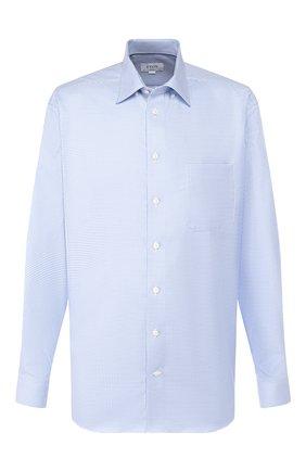 Мужская хлопковая сорочка ETON голубого цвета, арт. 1000 00019 | Фото 1
