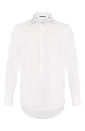 Мужская хлопковая сорочка ETON белого цвета, арт. 1000 00084   Фото 1