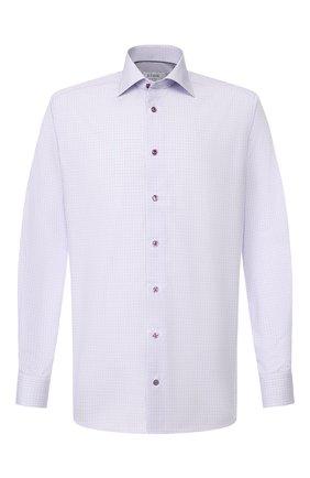 Мужская хлопковая сорочка ETON сиреневого цвета, арт. 1000 00272 | Фото 1