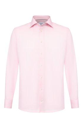 Мужская хлопковая сорочка ETON розового цвета, арт. 3441 79512 | Фото 1