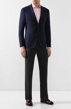 Мужская хлопковая сорочка ETON розового цвета, арт. 3441 79512 | Фото 2
