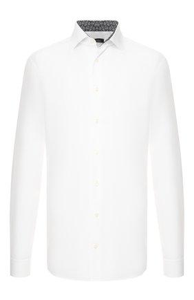 Мужская хлопковая сорочка VAN LAACK белого цвета, арт. TIVARA2-TF05/160888 | Фото 1