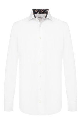 Мужская хлопковая сорочка VAN LAACK белого цвета, арт. RIVARA-TF05/160708 | Фото 1