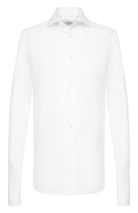 Мужская хлопковая сорочка VAN LAACK белого цвета, арт. RIVARA-TF/130532 | Фото 1