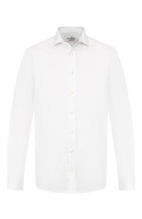 Мужская хлопковая сорочка VAN LAACK белого цвета, арт. RAND0-TFN/150046 | Фото 1
