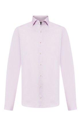 Мужская сорочка из смеси хлопка и шелка VAN LAACK сиреневого цвета, арт. MIVARA-LSF/151424 | Фото 1