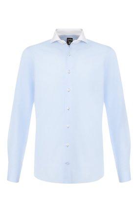 Мужская хлопковая сорочка VAN LAACK светло-голубого цвета, арт. MES0-FXSF/150005   Фото 1