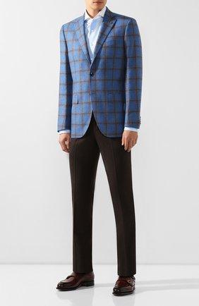 Мужская хлопковая сорочка VAN LAACK светло-голубого цвета, арт. MES0-FXSF/150005   Фото 2