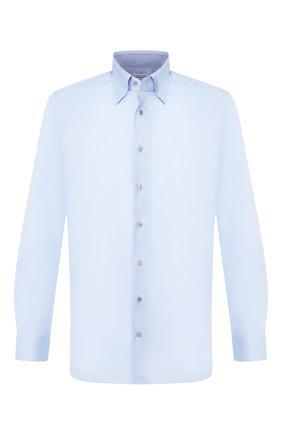 Мужская хлопковая сорочка ZILLI голубого цвета, арт. MFS-MERCU-01404/RZ01 | Фото 1