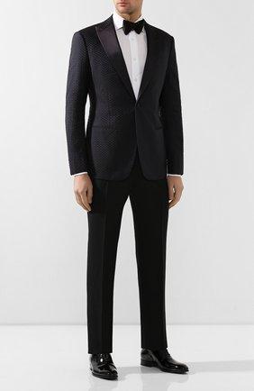 Мужской пиджак GIORGIO ARMANI черного цвета, арт. 8WGGG04T/T01F8 | Фото 2