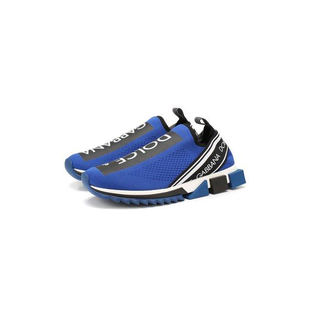 Текстильные кроссовки Sorrento Dolce & Gabbana — Текстильные кроссовки Sorrento