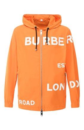 Мужская куртка BURBERRY оранжевого цвета, арт. 8016796 | Фото 1
