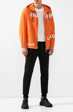 Мужская куртка BURBERRY оранжевого цвета, арт. 8016796 | Фото 2