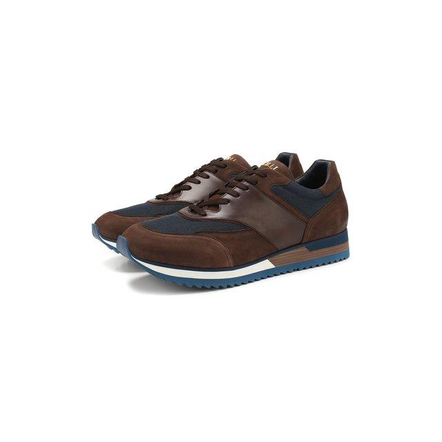 Комбинированные кроссовки Zilli — Комбинированные кроссовки