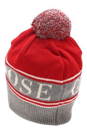 Мужская шерстяная шапка CANADA GOOSE красного цвета, арт. 5114L | Фото 2
