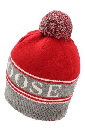 Мужская шерстяная шапка CANADA GOOSE красного цвета, арт. 5114M | Фото 2