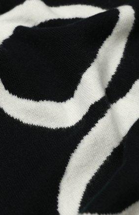 Мужской шерстяной шарф CANADA GOOSE черно-белого цвета, арт. 5508M | Фото 2
