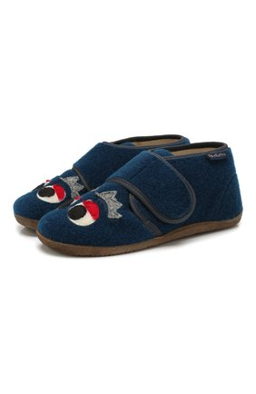 Детского домашние ботинки NATURINO синего цвета, арт. 0014000646/01/27-29 | Фото 1