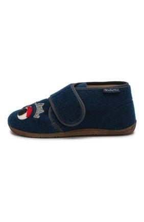 Детского домашние ботинки NATURINO синего цвета, арт. 0014000646/01/27-29 | Фото 2
