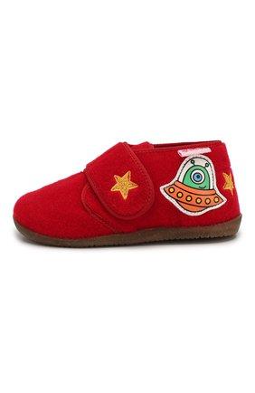 Детского домашние ботинки NATURINO красного цвета, арт. 0014000644/01/24-26 | Фото 2