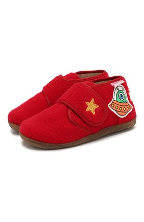 Детского домашние ботинки NATURINO красного цвета, арт. 0014000644/01/20-23 | Фото 1
