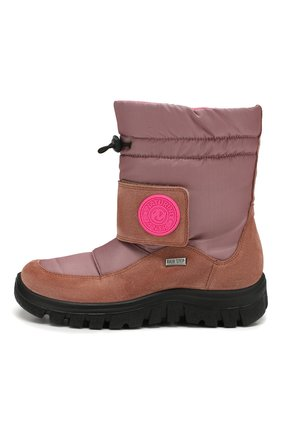 Детские утепленные сапоги NATURINO розового цвета, арт. 0013001375/01/27-32   Фото 2