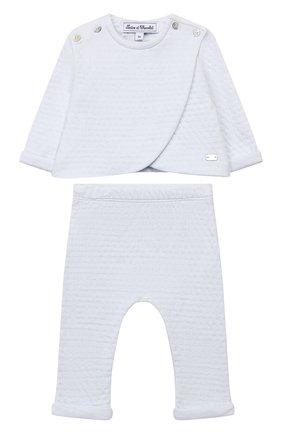 Детский комплект из кардигана и брюк TARTINE ET CHOCOLAT светло-голубого цвета, арт. TP36011/1M-1A | Фото 1