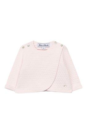 Детский комплект из кардигана и брюк TARTINE ET CHOCOLAT светло-розового цвета, арт. TP36011/1M-1A | Фото 2
