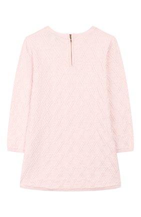 Женский платье из хлопка и шерсти TARTINE ET CHOCOLAT светло-розового цвета, арт. TP30111/4A-5A | Фото 2