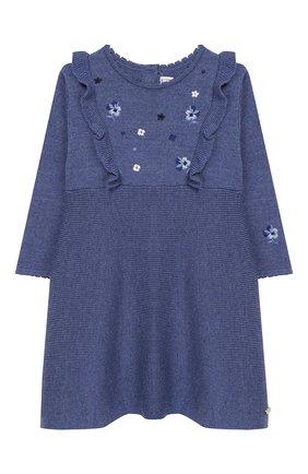 Женский шерстяное платье TARTINE ET CHOCOLAT голубого цвета, арт. TP30051/1M-1A | Фото 1
