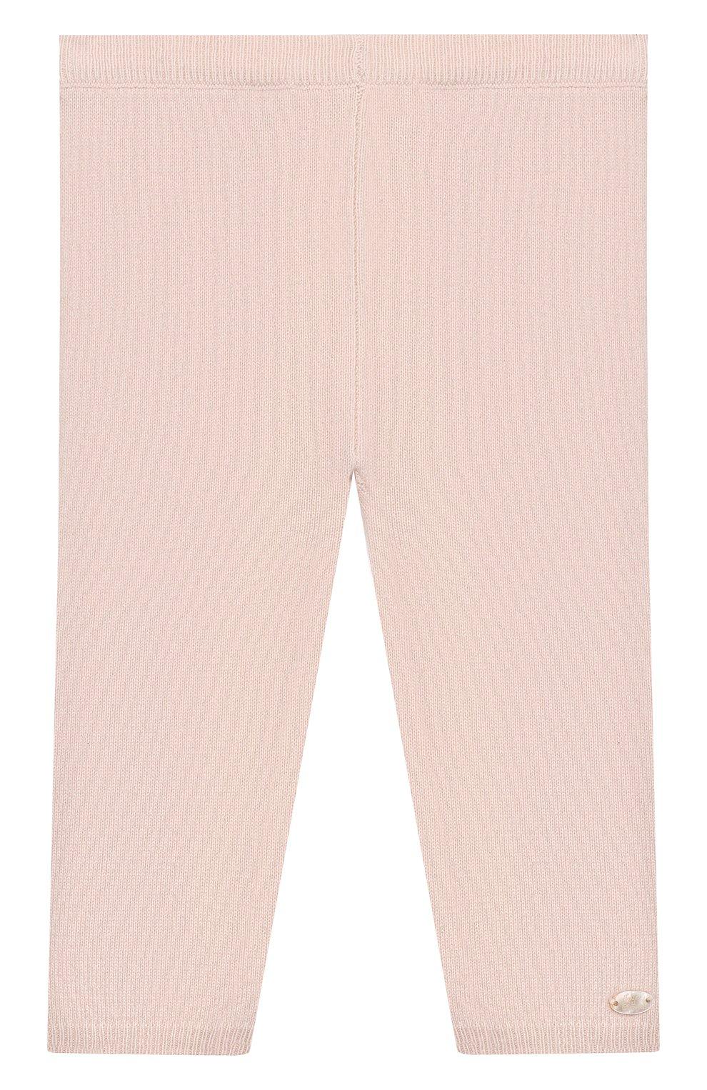 Детские кашемировые брюки TARTINE ET CHOCOLAT светло-розового цвета, арт. TP24011/1M-1A | Фото 1