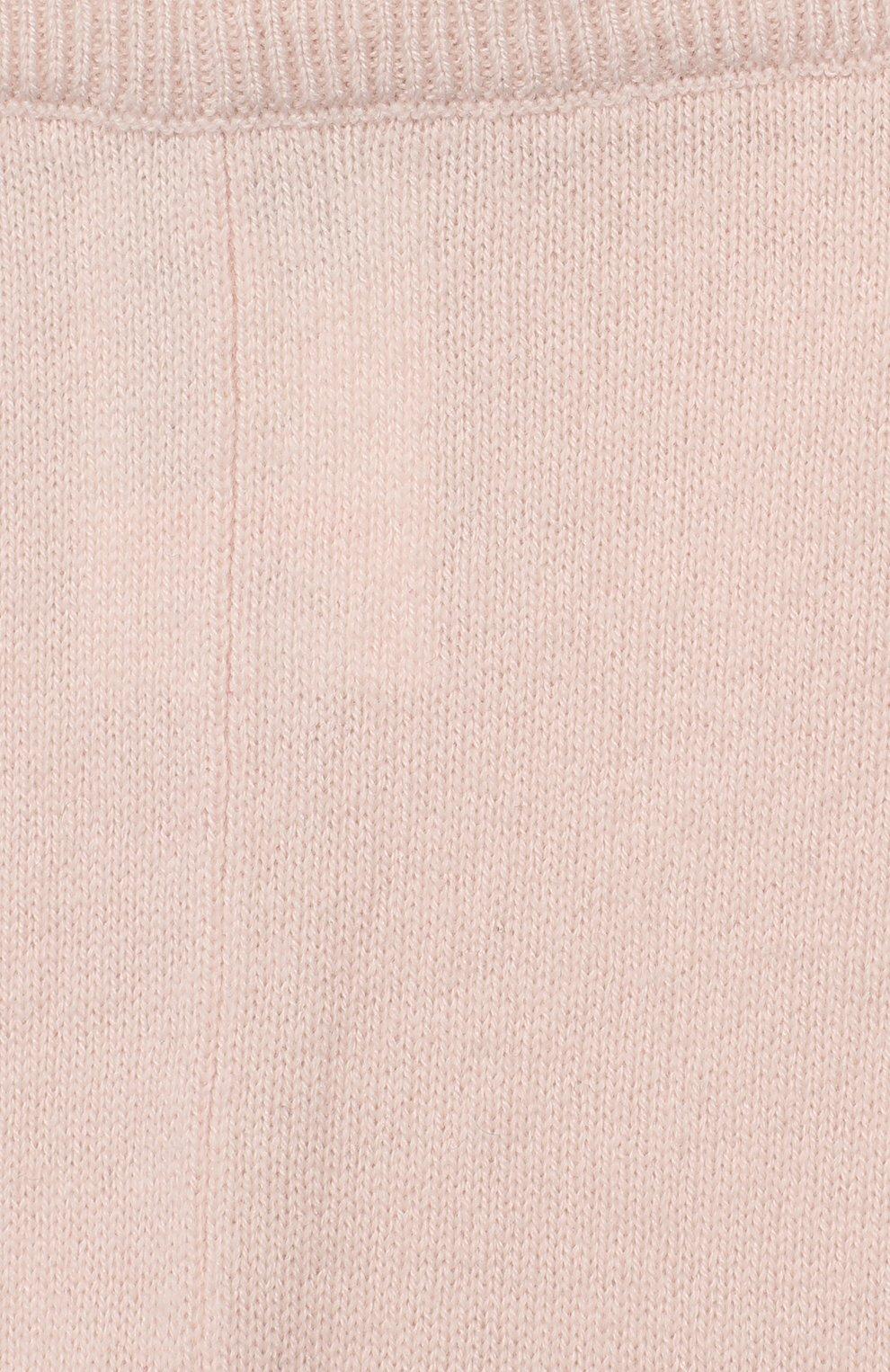 Детские кашемировые брюки TARTINE ET CHOCOLAT светло-розового цвета, арт. TP24011/1M-1A | Фото 3