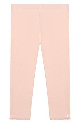 Детские хлопковые брюки TARTINE ET CHOCOLAT розового цвета, арт. TP24001/4A-5A | Фото 1