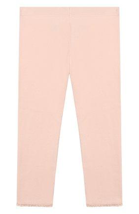 Детские хлопковые брюки TARTINE ET CHOCOLAT розового цвета, арт. TP24001/4A-5A | Фото 2