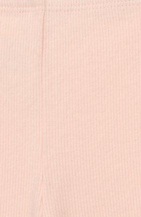 Детские хлопковые брюки TARTINE ET CHOCOLAT розового цвета, арт. TP24001/4A-5A | Фото 3 (Материал внешний: Хлопок; Статус проверки: Проверена категория; Ростовка одежда: 4 года | 104 см)