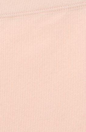 Детские хлопковые брюки TARTINE ET CHOCOLAT розового цвета, арт. TP24001/18M-3A   Фото 3 (Материал внешний: Хлопок; Ростовка одежда: 18 мес   86 см, 24 мес   92 см, 36 мес   98 см)