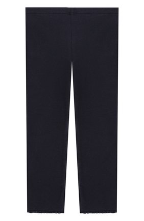 Детские хлопковые брюки TARTINE ET CHOCOLAT темно-синего цвета, арт. TP24001/18M-3A | Фото 2