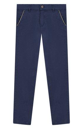 Детские брюки TARTINE ET CHOCOLAT синего цвета, арт. TP22053/6A-10A | Фото 1
