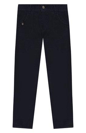 Детские хлопковые брюки TARTINE ET CHOCOLAT темно-синего цвета, арт. TP22043/6A-10A | Фото 1
