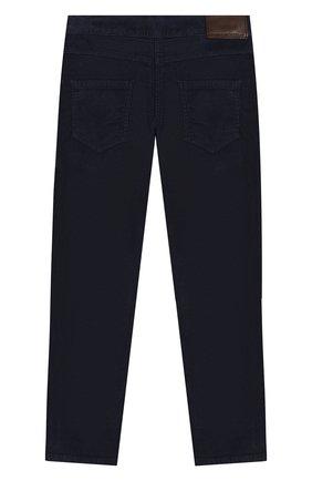 Детские хлопковые брюки TARTINE ET CHOCOLAT темно-синего цвета, арт. TP22043/6A-10A | Фото 2