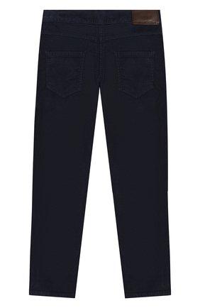 Детские хлопковые брюки TARTINE ET CHOCOLAT темно-синего цвета, арт. TP22043/4A-5A | Фото 2
