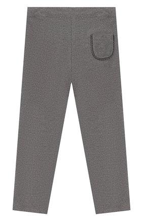 Детские хлопковые брюки TARTINE ET CHOCOLAT серого цвета, арт. TP22001/4A-5A | Фото 2