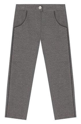 Детские хлопковые брюки TARTINE ET CHOCOLAT серого цвета, арт. TP22001/18M-3A | Фото 1