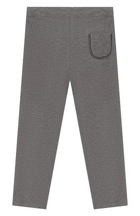 Детские хлопковые брюки TARTINE ET CHOCOLAT серого цвета, арт. TP22001/18M-3A | Фото 2