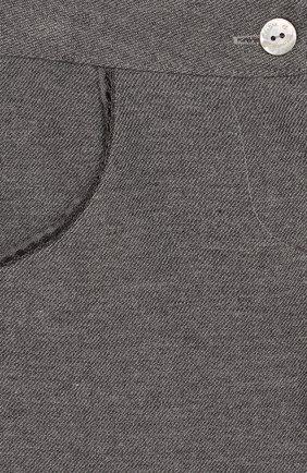 Детские хлопковые брюки TARTINE ET CHOCOLAT серого цвета, арт. TP22001/18M-3A | Фото 3
