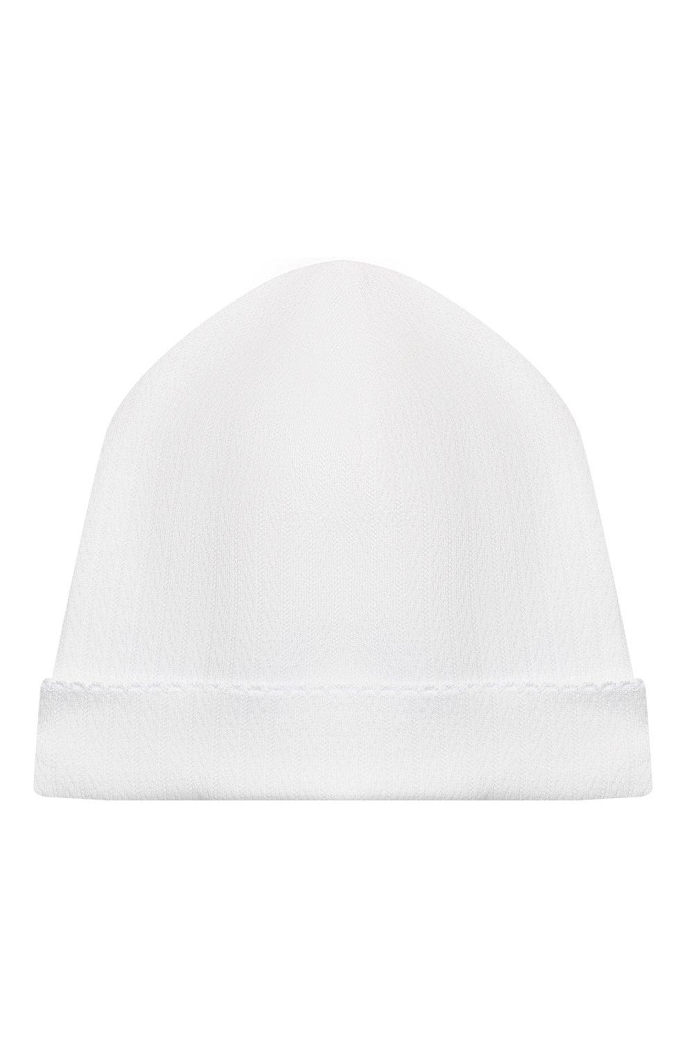 Детский комплект из распашонки с шапкой и ползунков KISSY KISSY белого цвета, арт. 141207   Фото 6