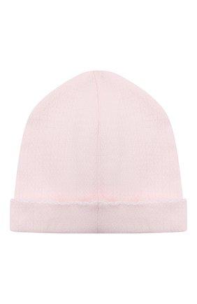 Детский комплект из распашонки с шапкой и ползунков KISSY KISSY розового цвета, арт. 141207 | Фото 7