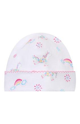 Детского хлопковая шапка KISSY KISSY разноцветного цвета, арт. KG503175N | Фото 1